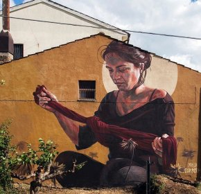 Streetart News [wall 531] – Milu Correch inItalia